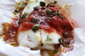 Italian barbecued fish with tomato sauce recipe for Italian fish sauce