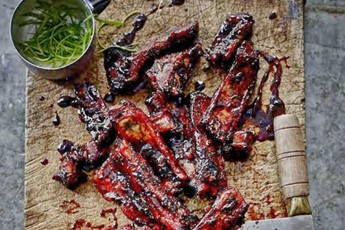 Jeremy Pang's barbecued Tsingtao beer ribs recipe