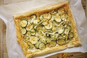 Summer Fennel Tart Recipe — Dishmaps