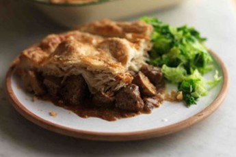 The Hairy Bikers' superb steak and ale pie recipe