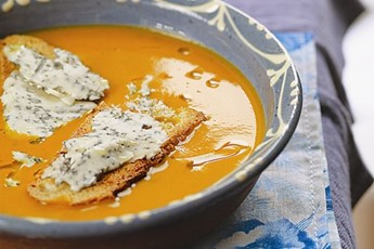 Jose Pizarro's Roast Pumpkin Soup With Blue Cheese Recipe ...