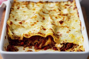 Lawrence Dallaglio's lasagne recipe