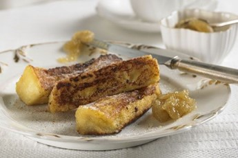 Tristan Welch's Apple Butter And Cinnamon Custard Toasts Recipes ...
