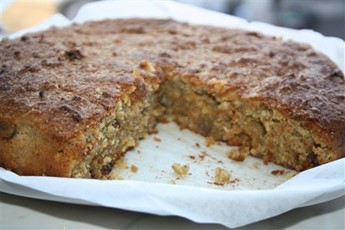 Carrot, pistachio and coconut cake recipe