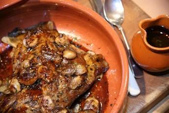 Roast shoulder of lamb recipe