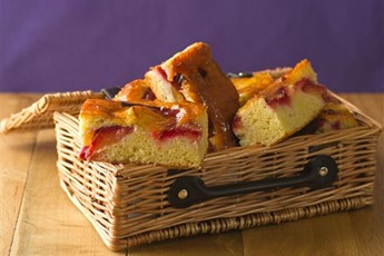 Apple and plum cake recipe