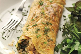 crab omelette cook crab salad omelettes related to crab salad omelet ...