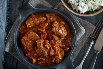 Lamb browned in its sauce recipe