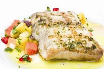 Grilled mahi mahi with pineapple salsa recipe