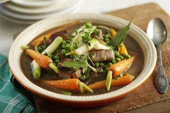 Marco Pierre White's quick lamb stew
