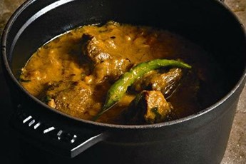 Lamb and sweetcorn curry recipe
