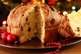 Panettone – the 'big bread' laced with raisins and orange and ...