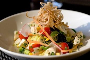 Paul Hallett's Chopped Vegetable Salad Recipes — Dishmaps