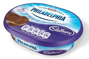 Philadelphia spread with Cadbury chocolate to hit the shops