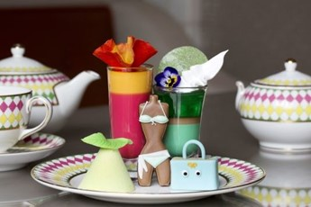 Unusual afternoon teas