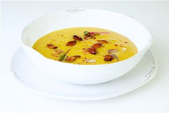 ... soup with crab herby potato soup with spiced scallop soup spicy black