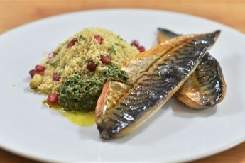 Rachel Allen S Grilled Mackerel Fillets With Parsley Mint