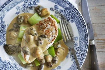 Raymond Blanc's chicken with mushrooms recipe