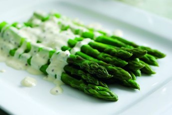 Asparagus with shallots recipe