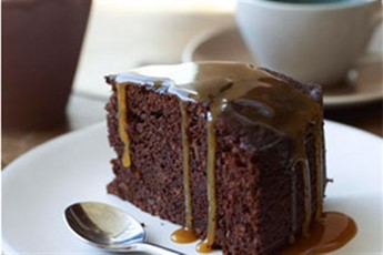 Sticky toffee pudding is good. Chocolate sticky toffee pudding is even ...