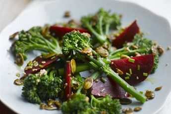 tenderstem apple and toasted and toasted hazelnut salad and toasted ...
