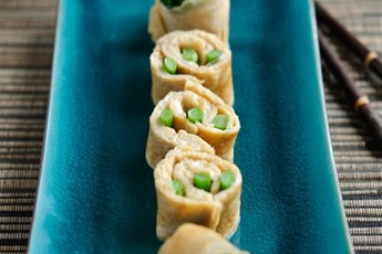 Tenderstem Broccoli omelette sushi roll recipe