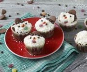 Chocolate snowman cupcakes recipe