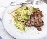 Lamb and avocado quinoa salad recipe