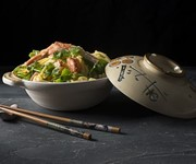 Lobster with ginger and spring onion recipe