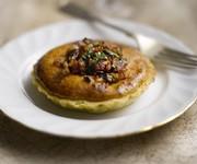 Welsh rarebit tart