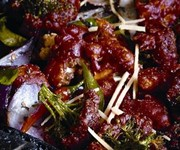 Cauliflower and broccoli stir-fry recipe