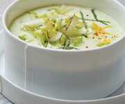 Cucumber and yoghurt gazpacho recipe