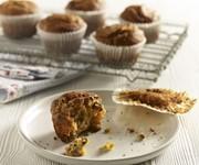 Grapefruit and pecan muffins recipe