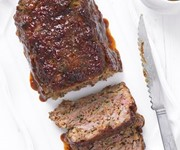 The Hairy Bikers' meat loaf with gravy recipe