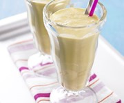 Peaches and cream malted milkshake recipe