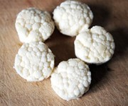 turned Cauliflower