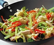 How do you cook… stir fry?